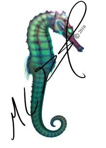 Hippocampus kuda, the yellow seahorse